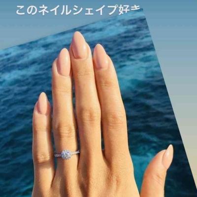 清穂久美子の手と指輪